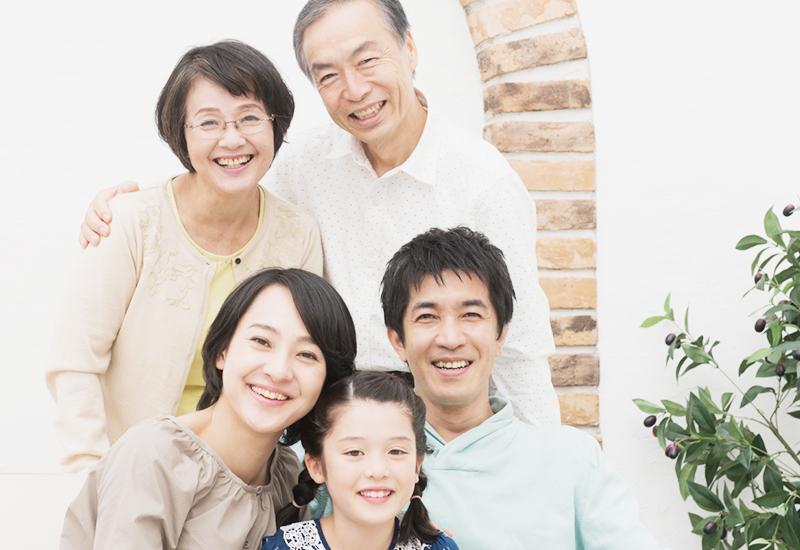 家族で健康を分け合える
